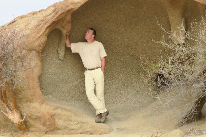 Wüstenquell Guest Farm Namibië bijzondere rotsformaties