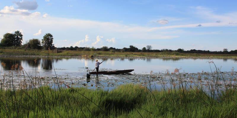 Maun toegangspoort voor Okavango Delta Botswana