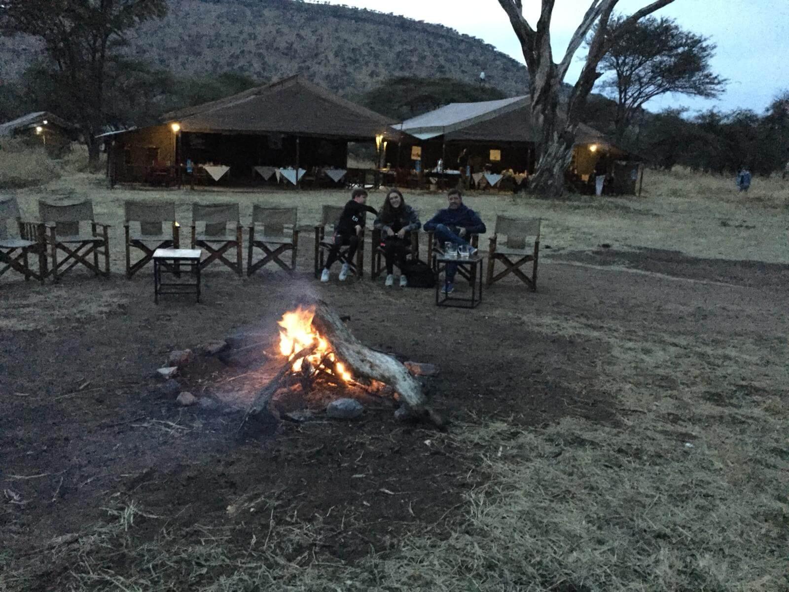 Familie Kremer in Tanzania