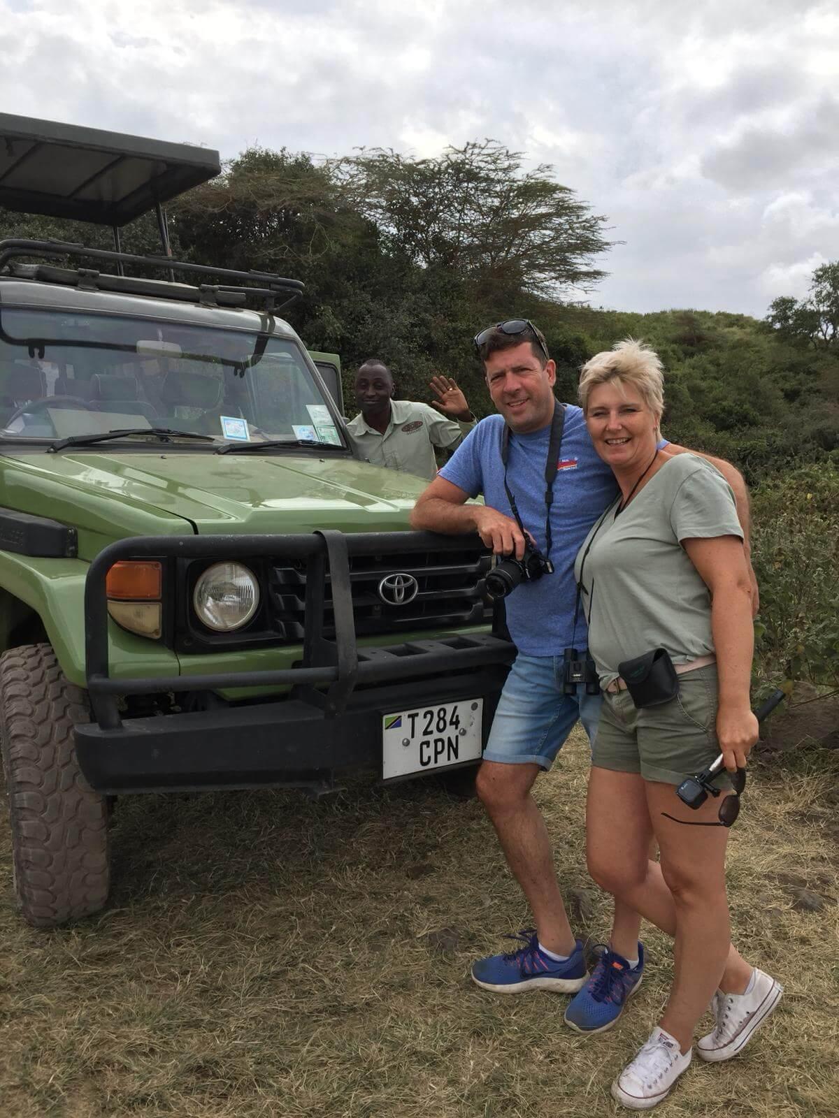 Familie Kremer tijdens maatwerk safari Tanzania