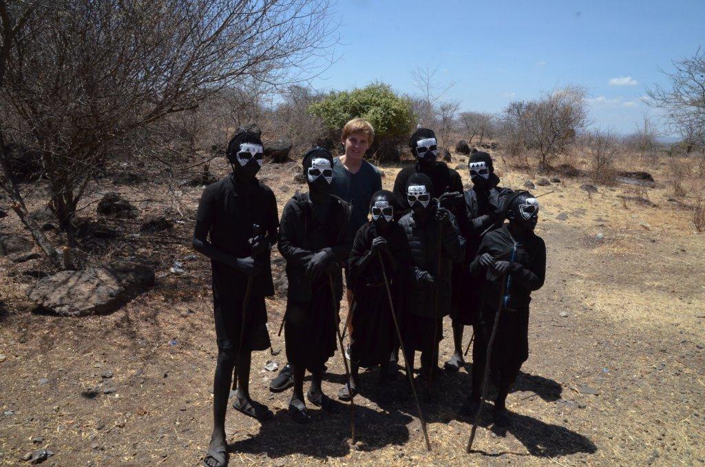 Imme bij de Maasai in Tanzania