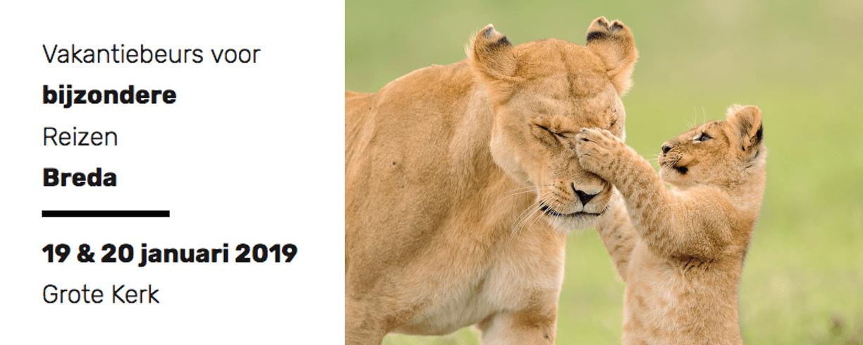 Beurs voor Bijzondere Reizen | Mambulu! Safaris with a Difference