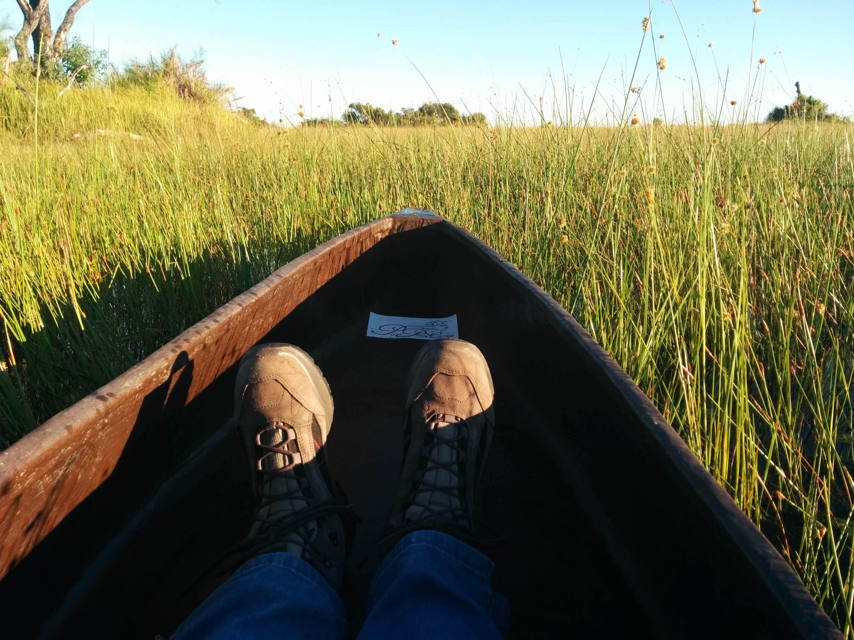 Kanovaren in de Okavango Delta - Mambulu! Safaris