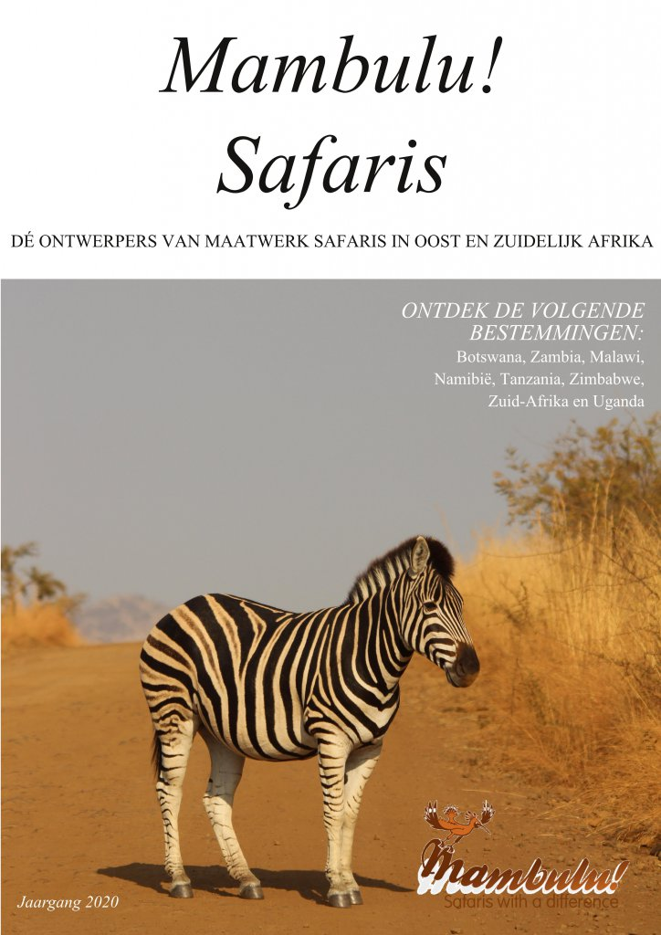 Mambulu! Safaris - Brochure 2020