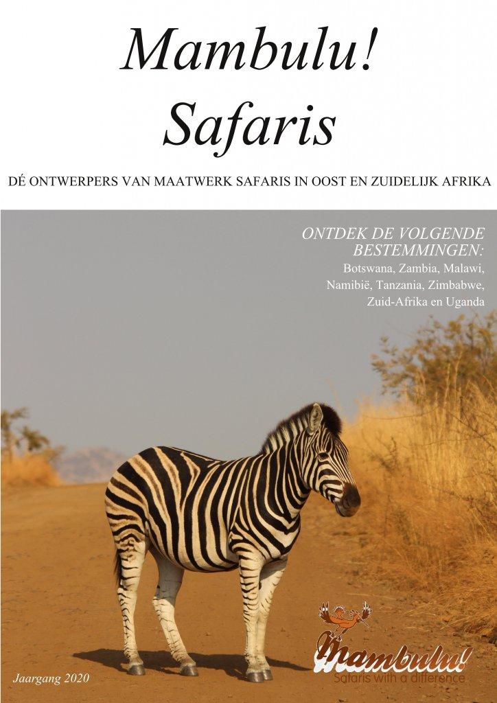 Mambulu! Safaris - Brochure 2020