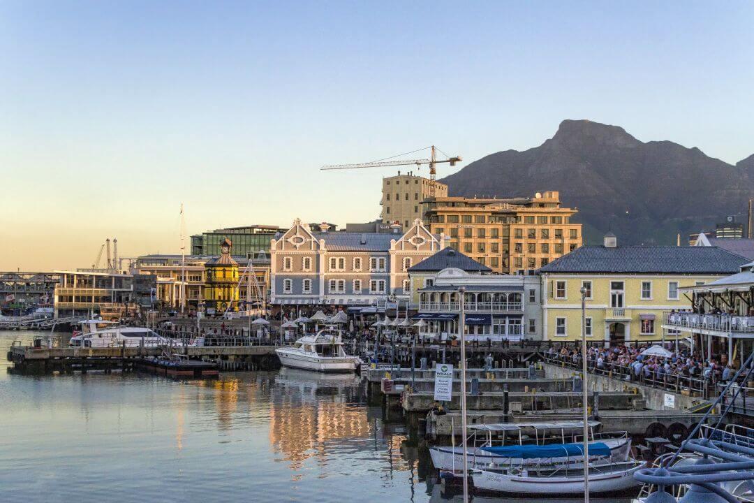 Kaapstad in Zuid-Afrika
