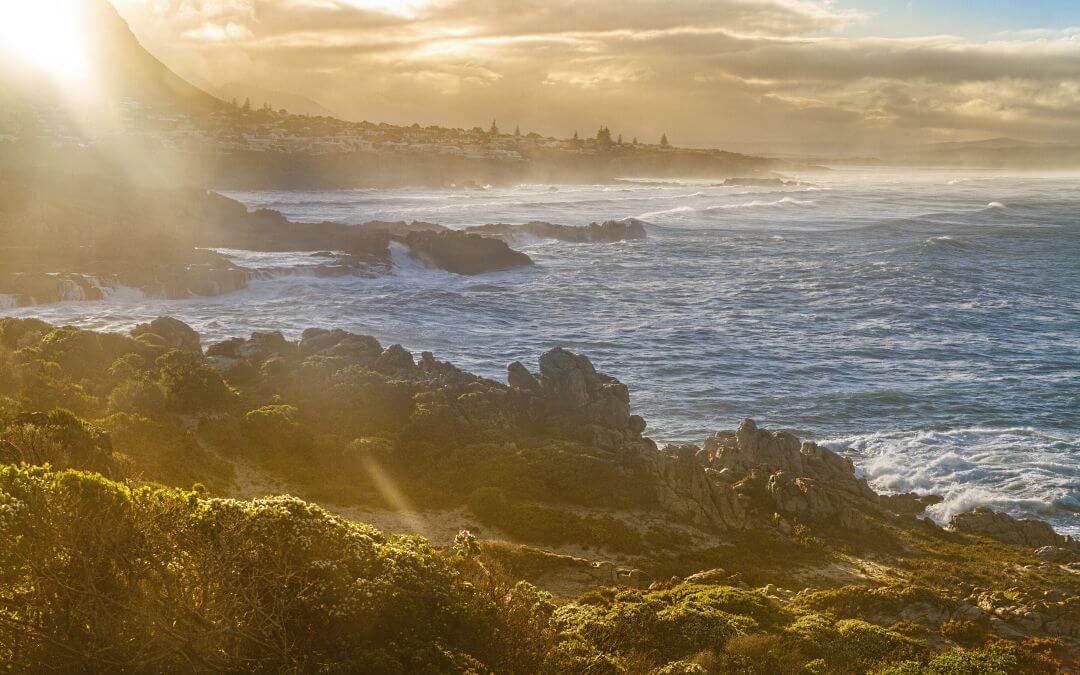 Ruige kust van Zuid-Afrika