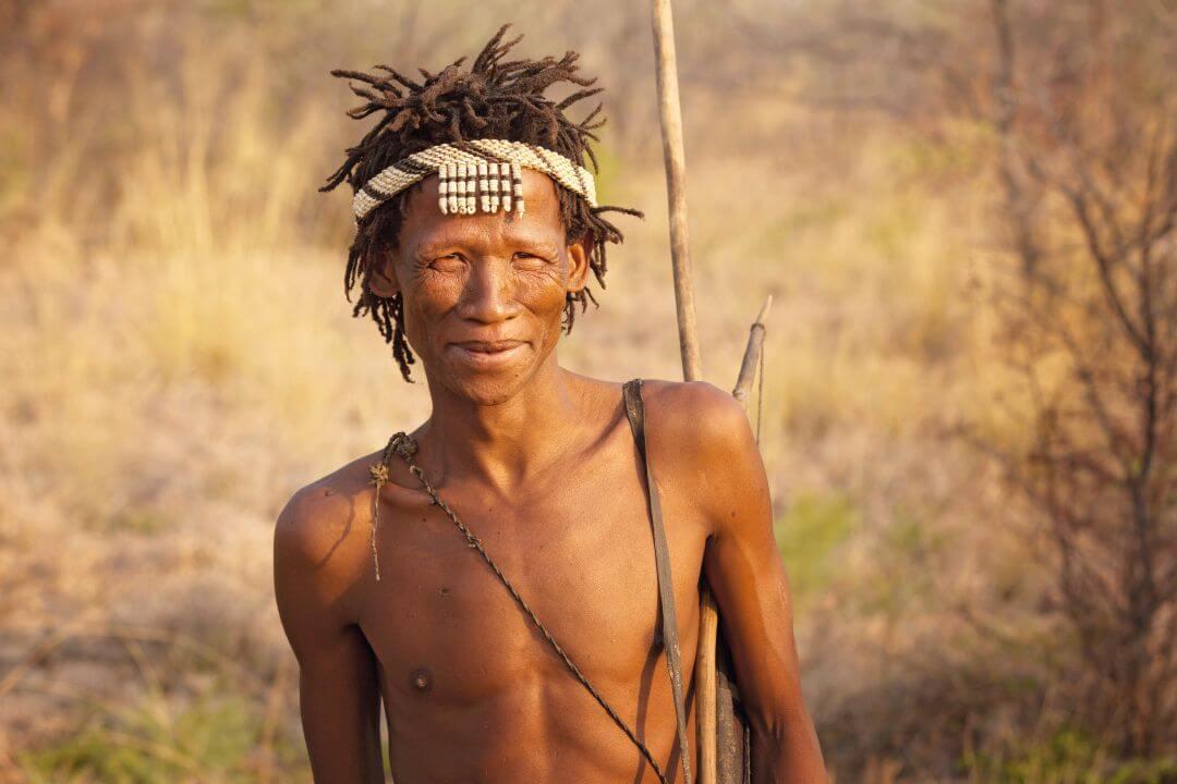 San Bushmen in Namibië