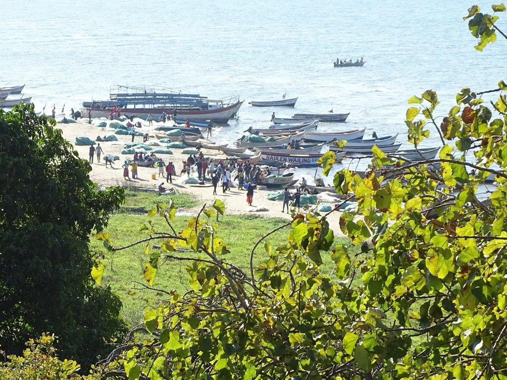 Senga Bay aan Lake Malawi