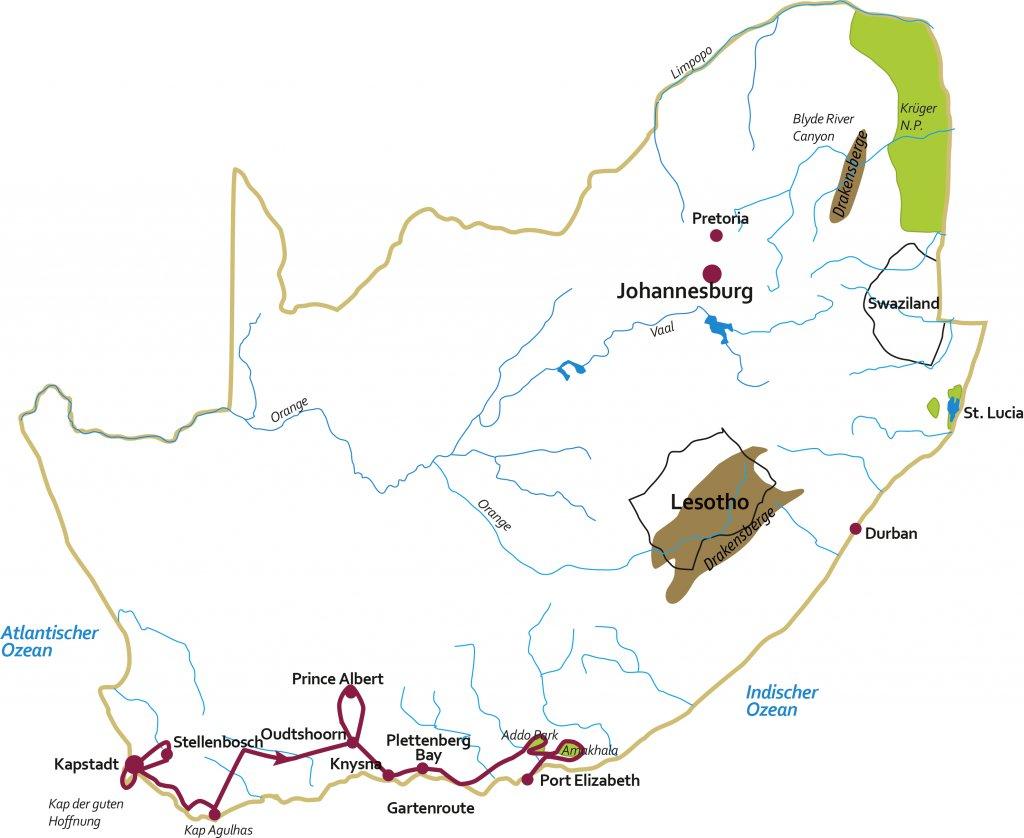 Zuid-Afrika in kleine Nederlandstalige groep