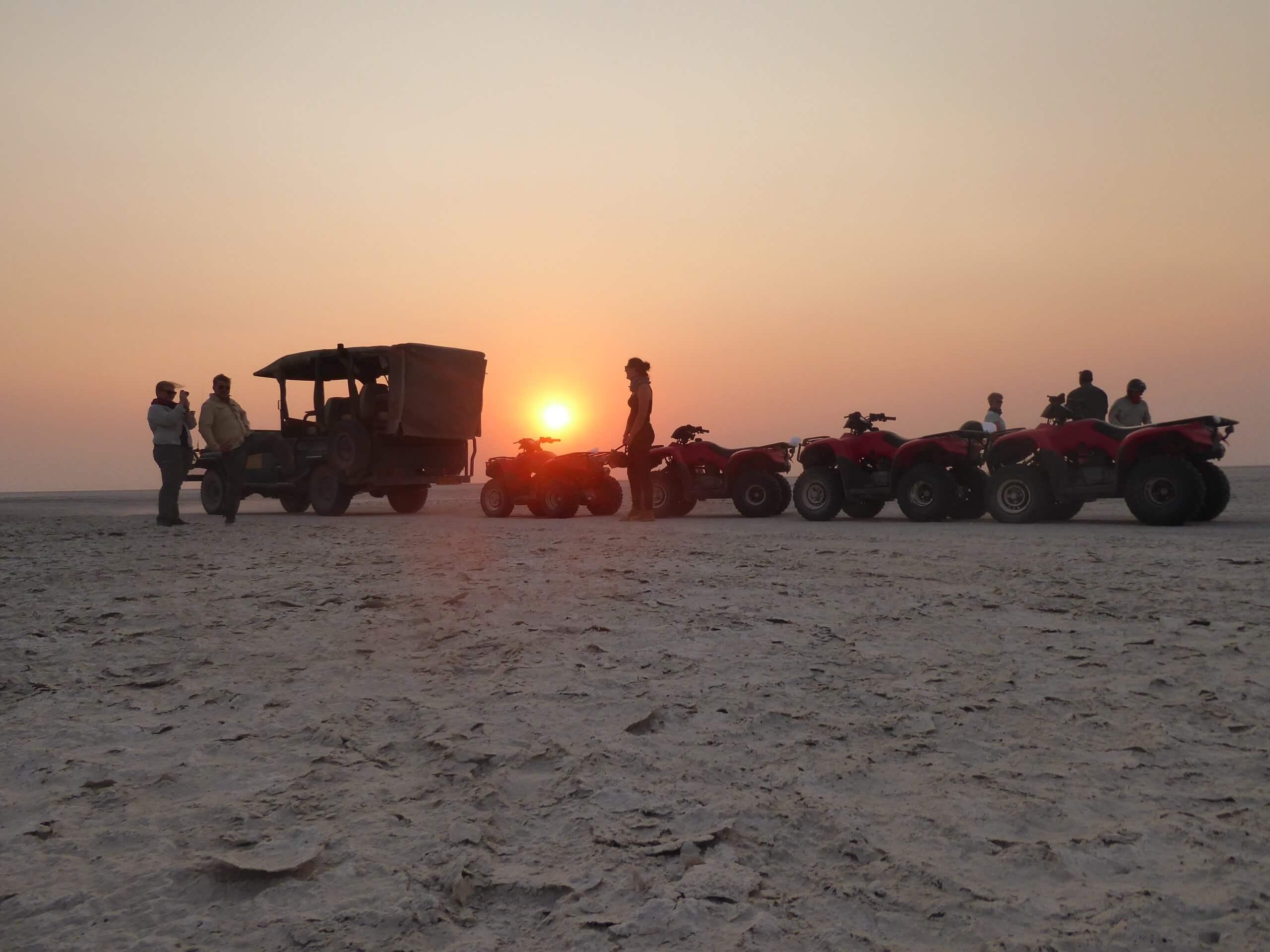 Makgadikgadi Salt Pans sleepout