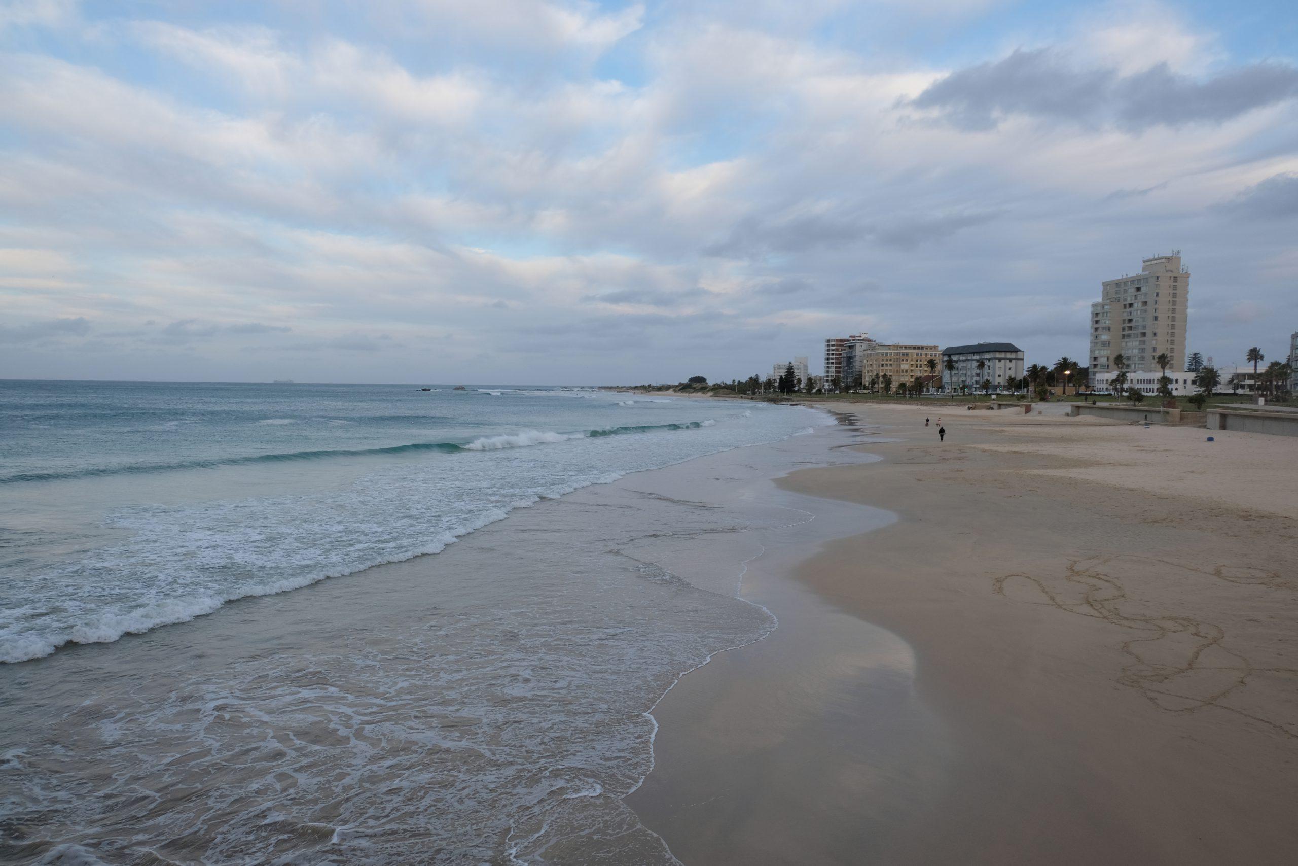 Port Elizabeth, Strand, Zuid-Afrika