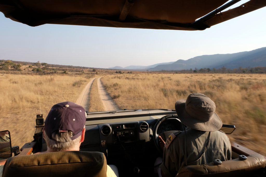 Safari met kinderen, Malaria-vrij gebied, Entabeni Game Reserve, Zuid-Afrika
