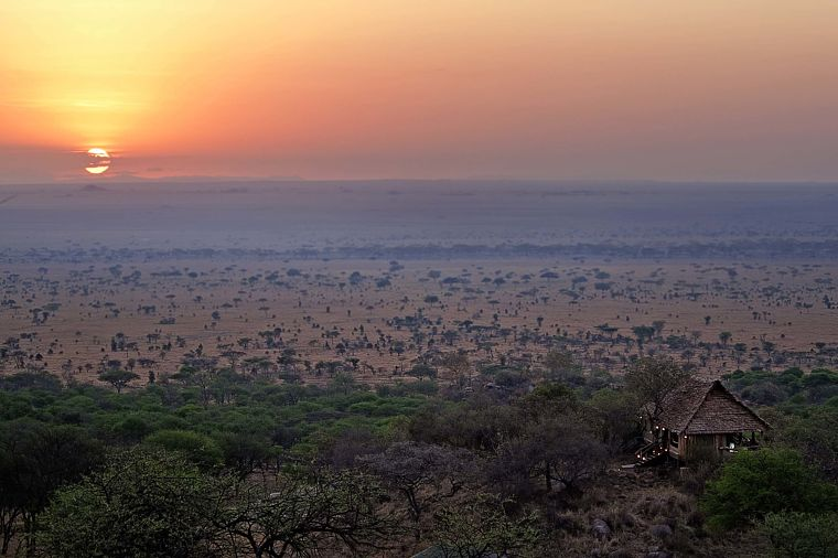 Serengeti National Park, Pioneer Camp uitzicht, Tanzania