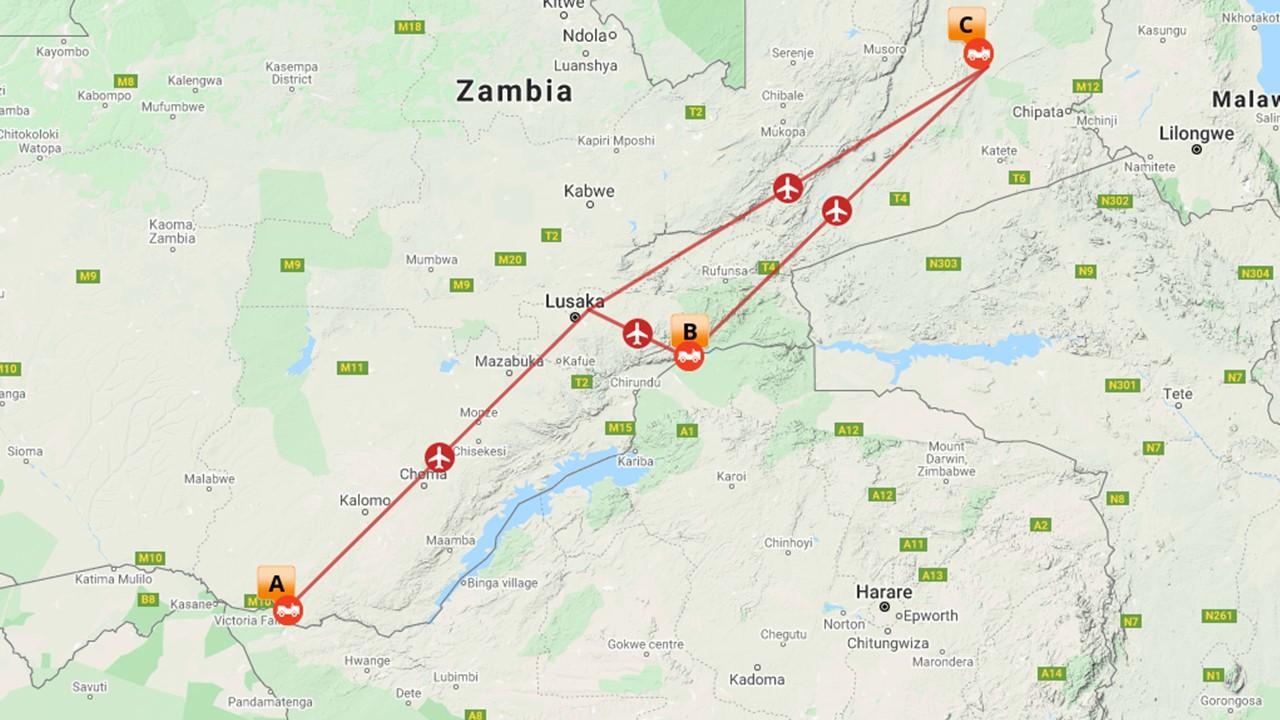 Afrika met kids - Zambia hightlights - 7 dagen