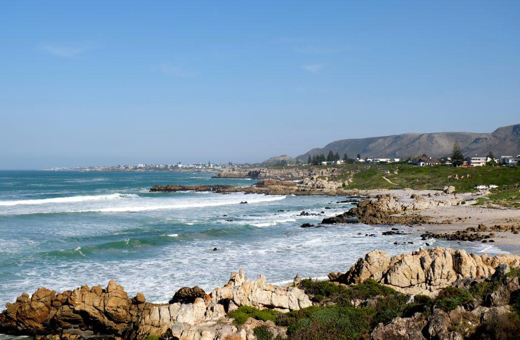 Kustlijn Hermanus, Zuid Afrika