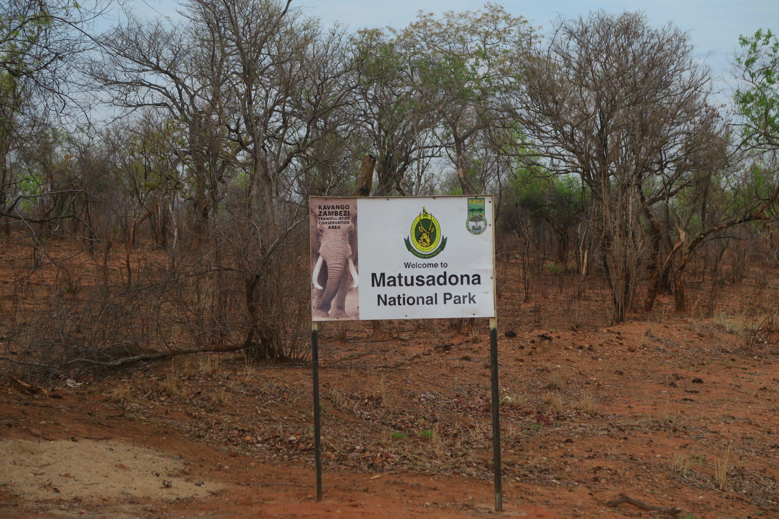 Matusadona National Park op Back Road Zimbabwe