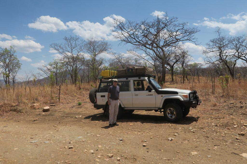 Pauze op de Leopard Hill Road - Zambia