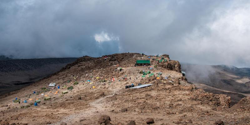 Barafu Camp Kilimanjaro Tanzania