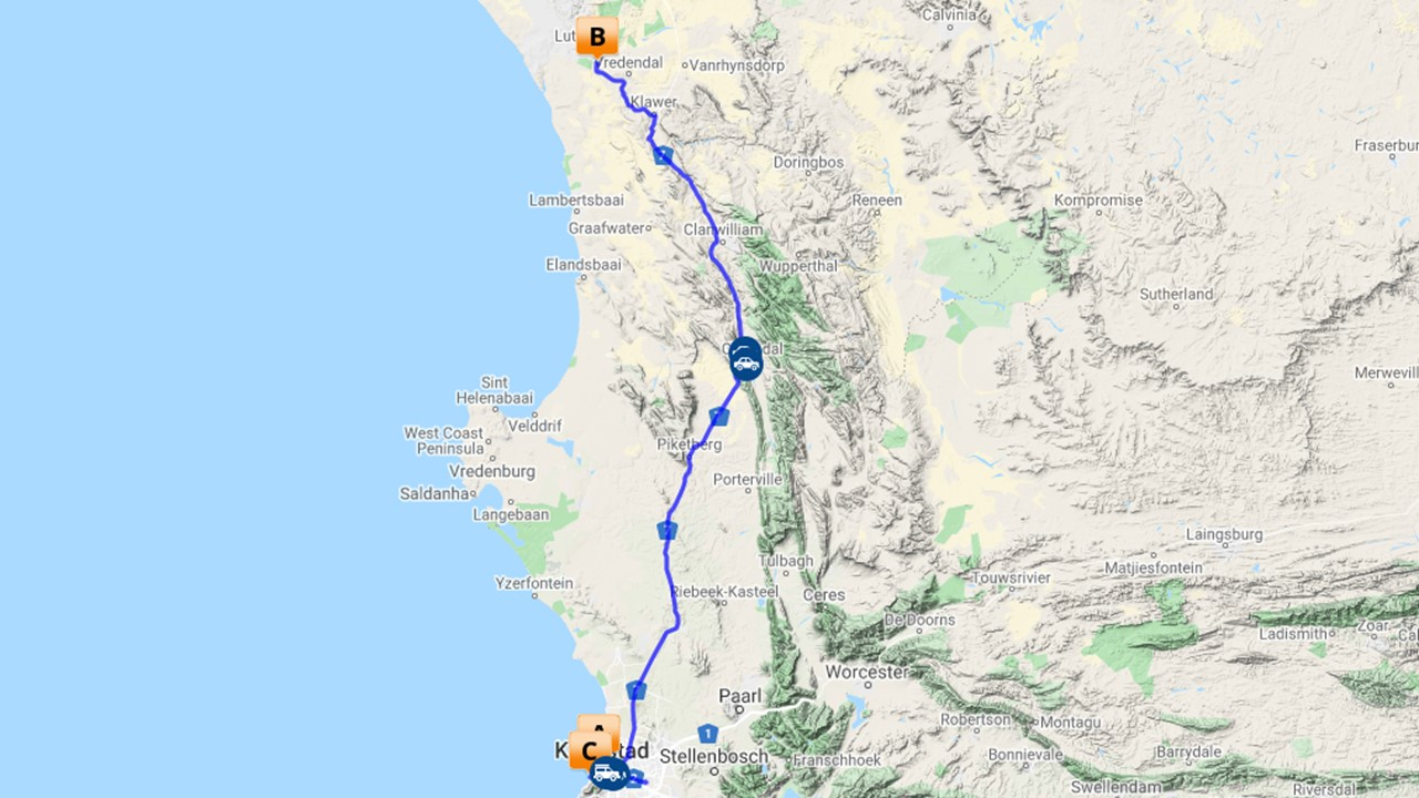 Bloemenroute Zuid Afrika - 8 dagen