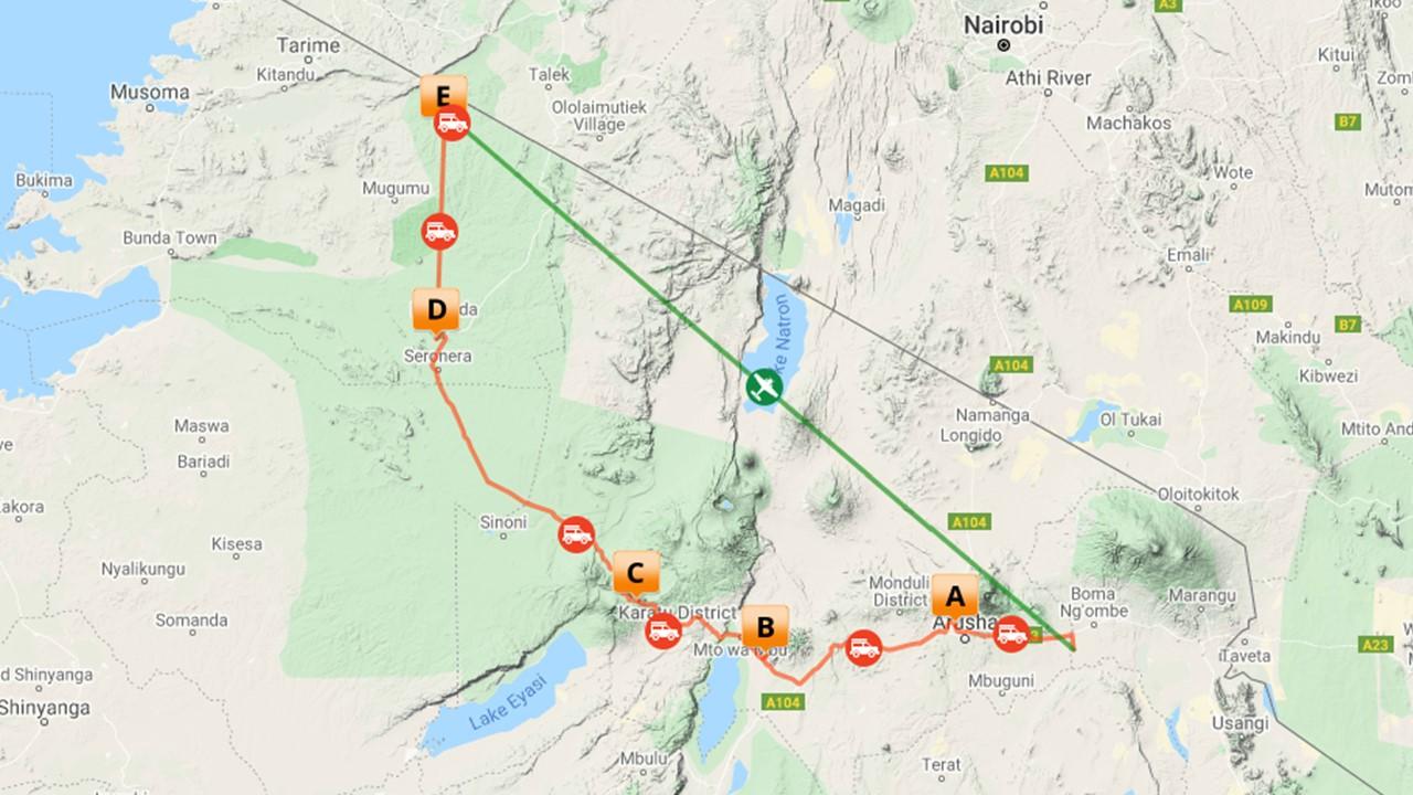 Complete reis Tanzania - Migratie & Masaai - 9 dagen
