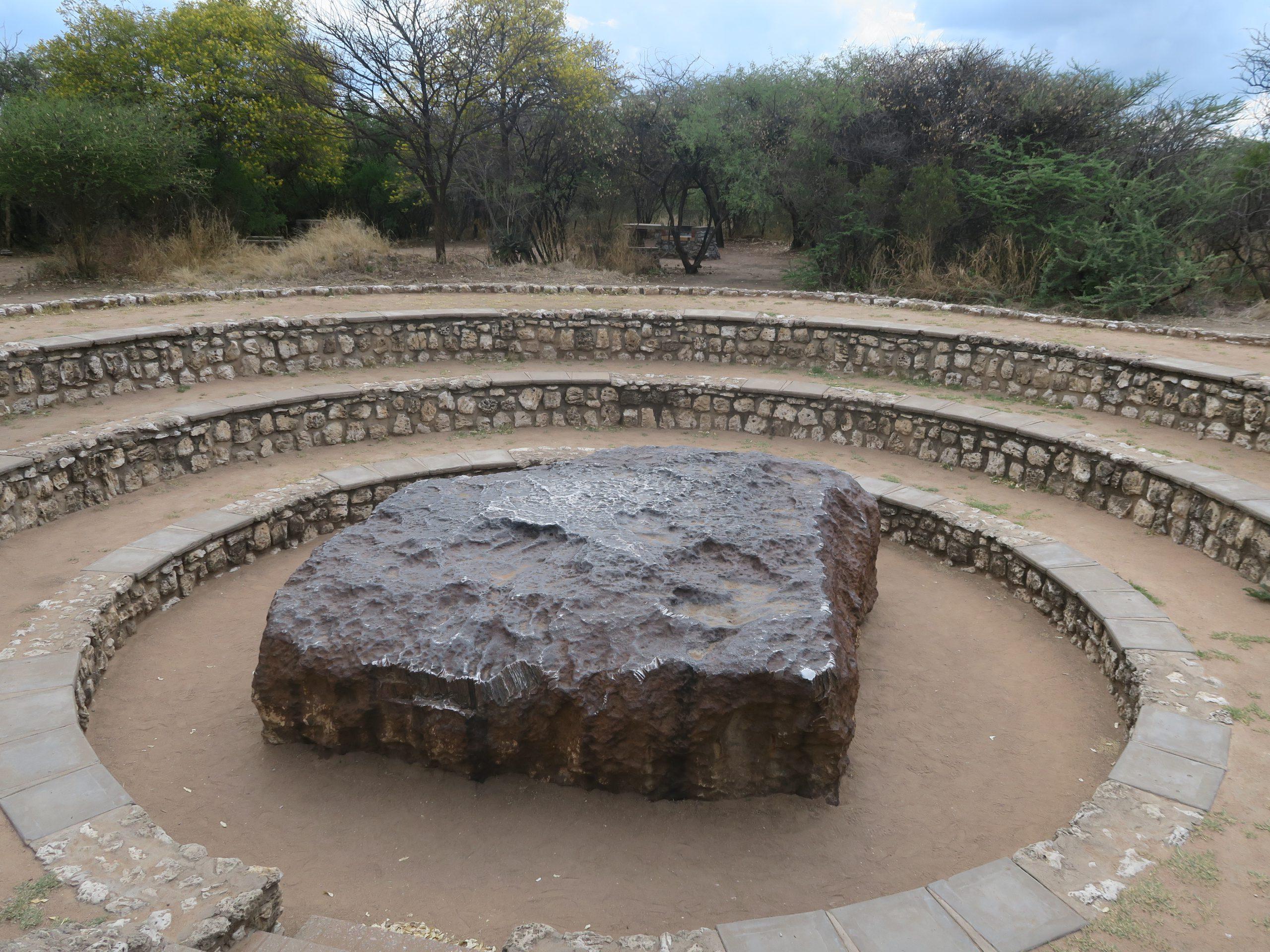 Hoba meteoriet Namibië