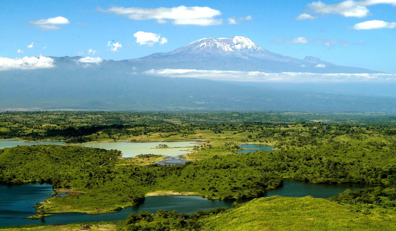 Kilimanjaro vanuit Arusha National Park Tanzania