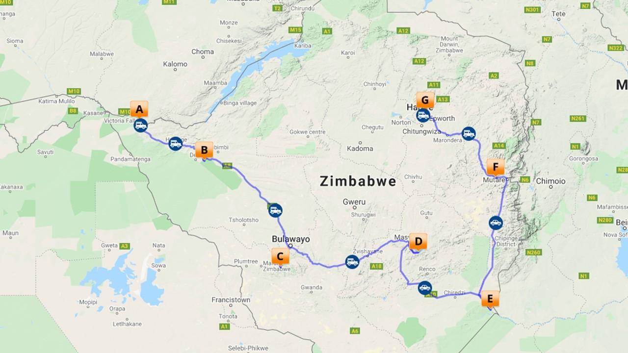 Klassieke rondreis Zimbabwe - 12 dagen