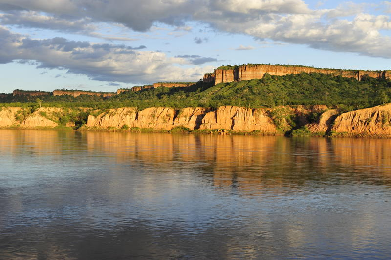 Kliffen in Gonarezhou National Park Zimbabwe