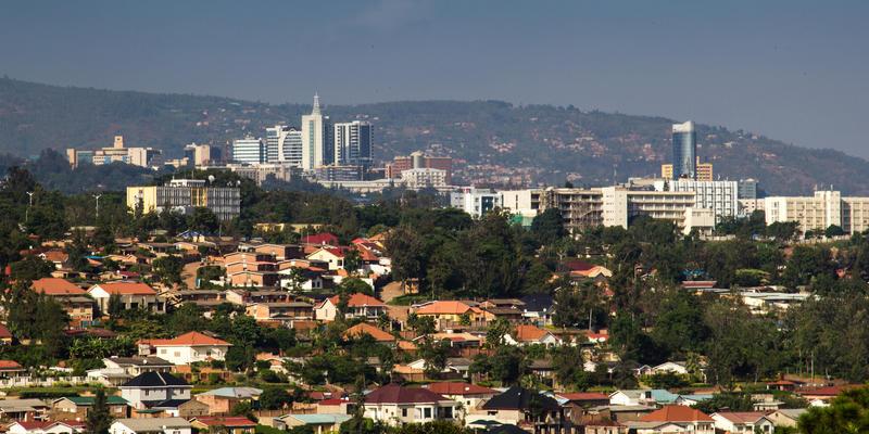 Overzicht Kigali Rwanda