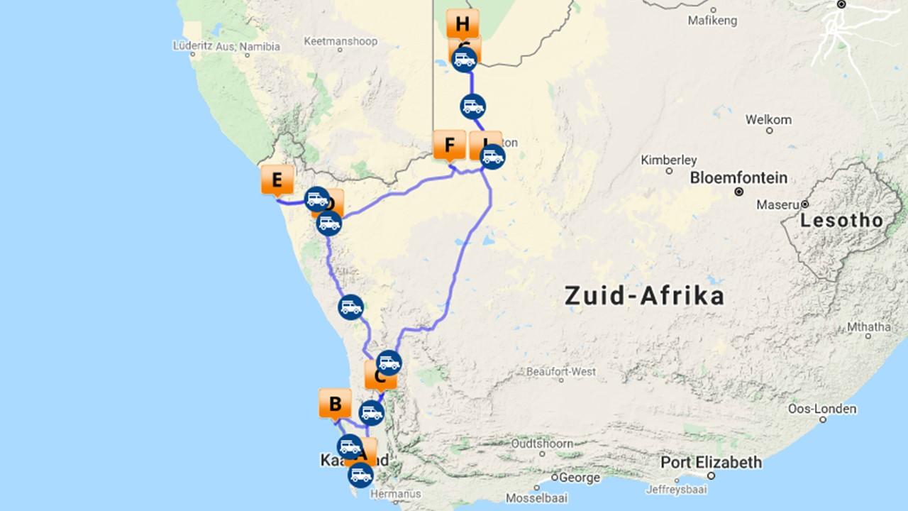 Rondreis Kaapstad & Northern Cape - 22 dagen