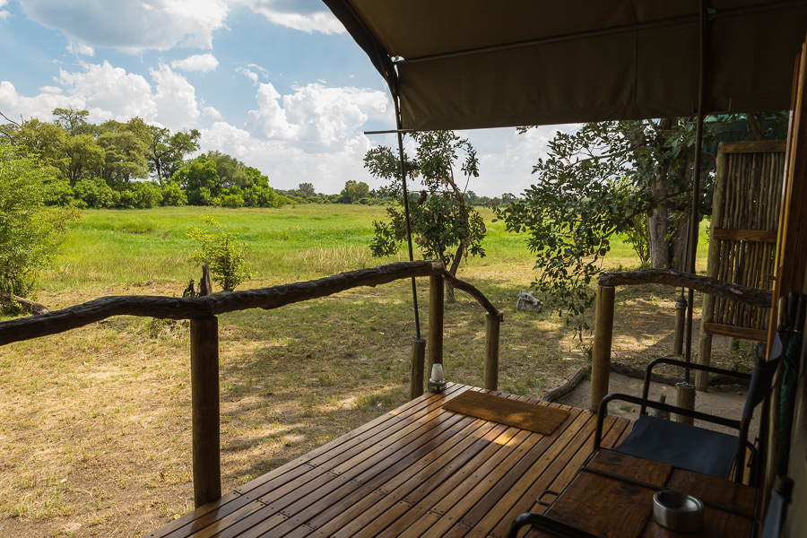 Room with a view bij Sango Safari Camp Khwai Area Botswana