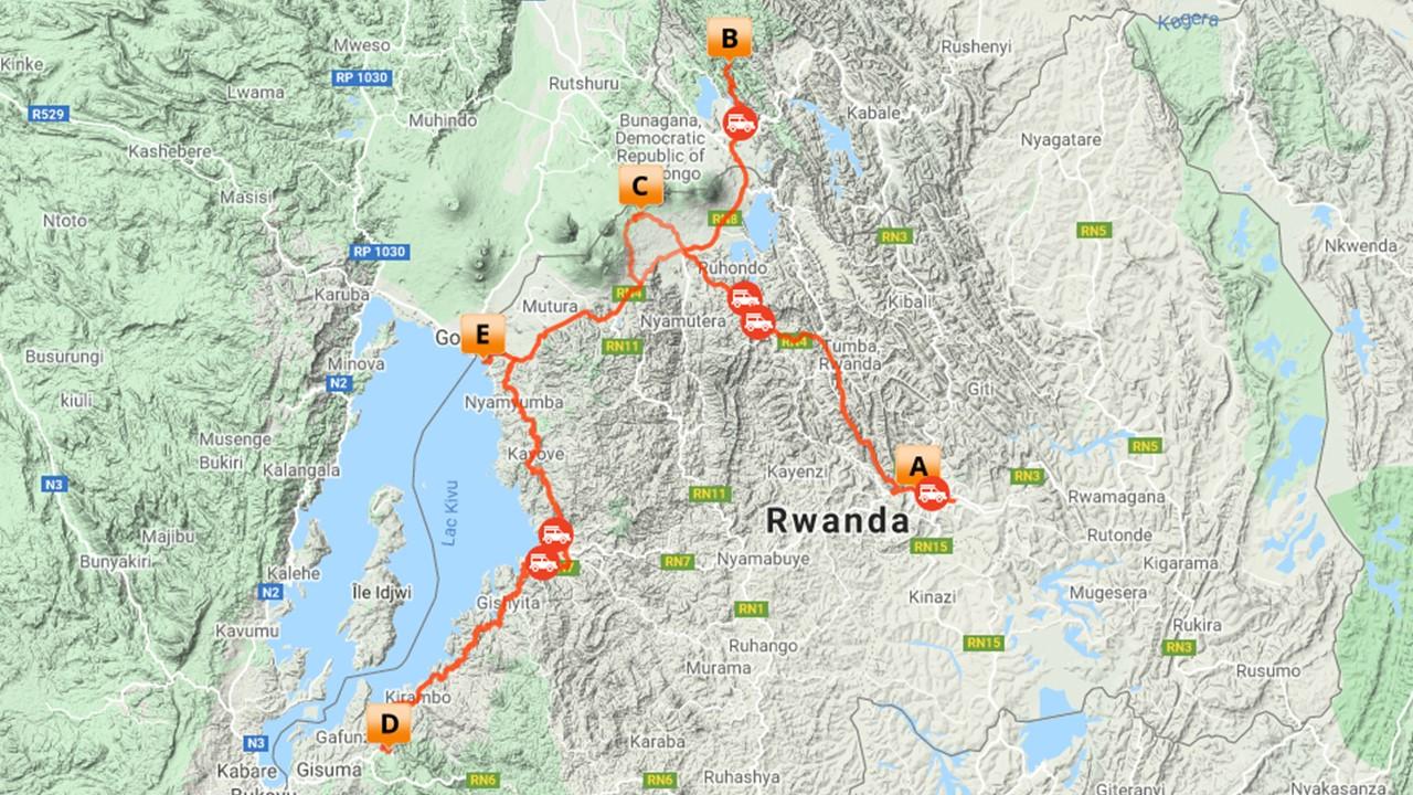 Rwanda Uganda Gorilla safari - 10 dagen