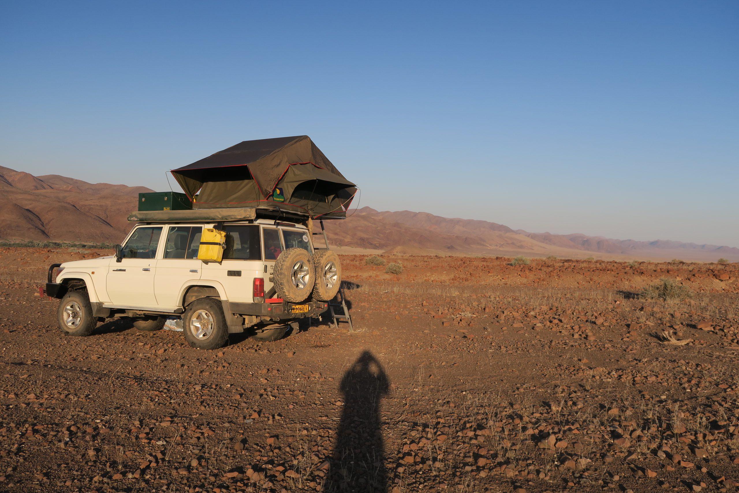 Wildkamperen in Kaokoveld Namibië