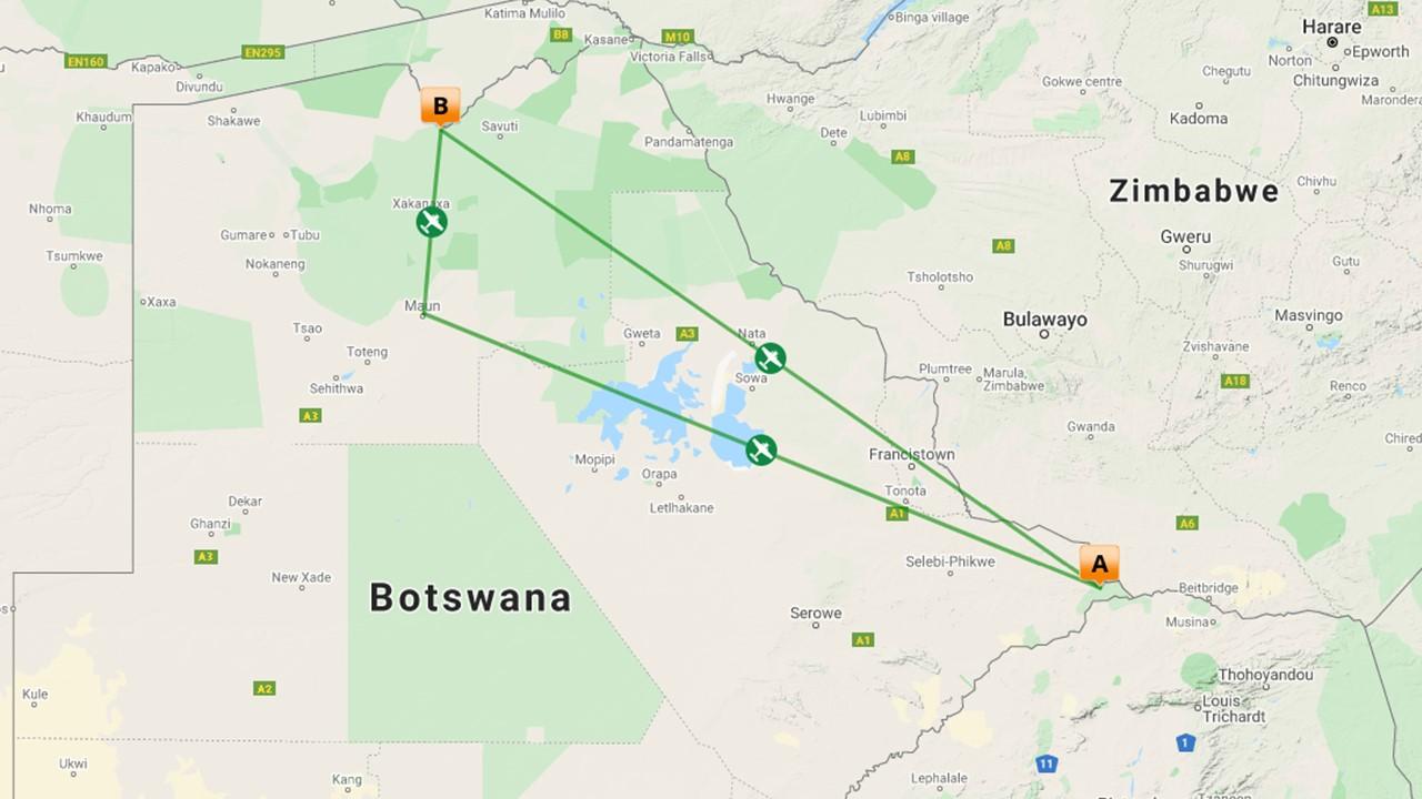 Wildlife fotosafari grenzeloos Botswana - 9 dagen