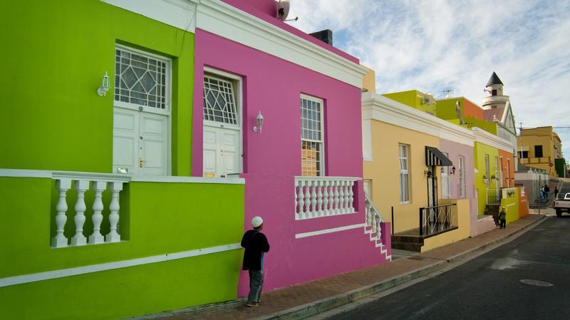 Bo Kaap in Kaapstad Zuid-Afrika