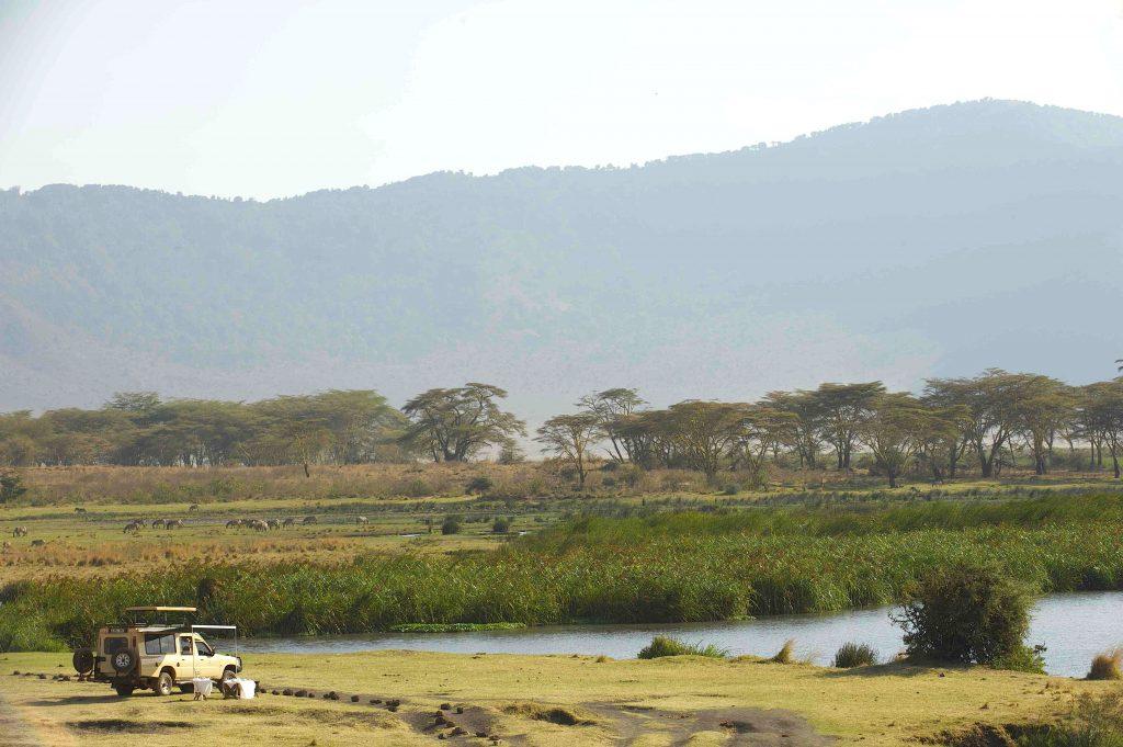 Ngorongoro krater, Tanzania