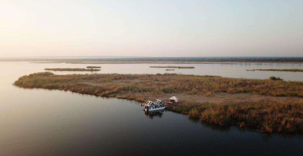 Privé rivier safari Zambezi in Zimbabwe