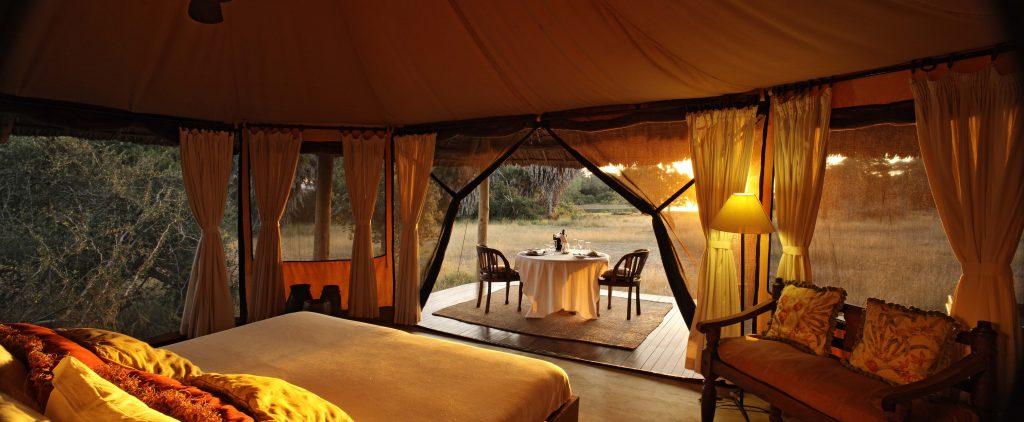 Stunning tents at Siwandu, Selous Game Reserve, Tanzania