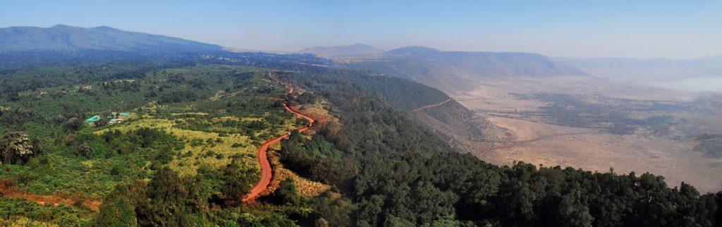 Uitzicht Ngorongoro Crater, Tanzania