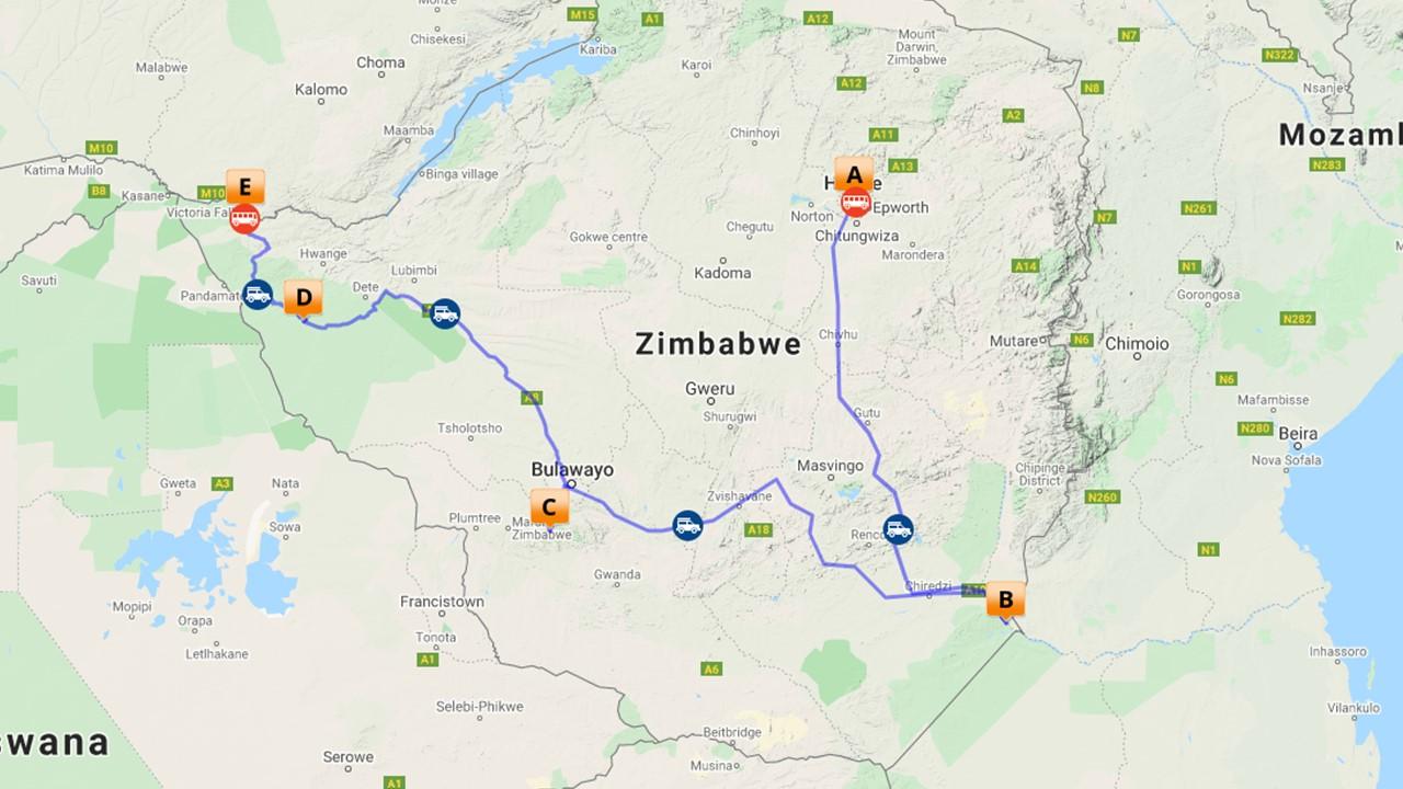 Zimbabwe safari - 11 dagen