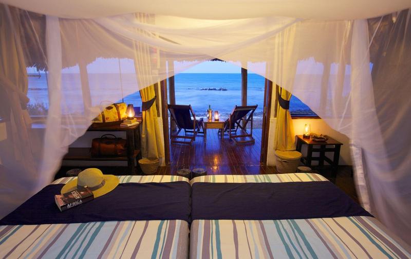 Chalet op Lazy Lagoon Island Tanzania