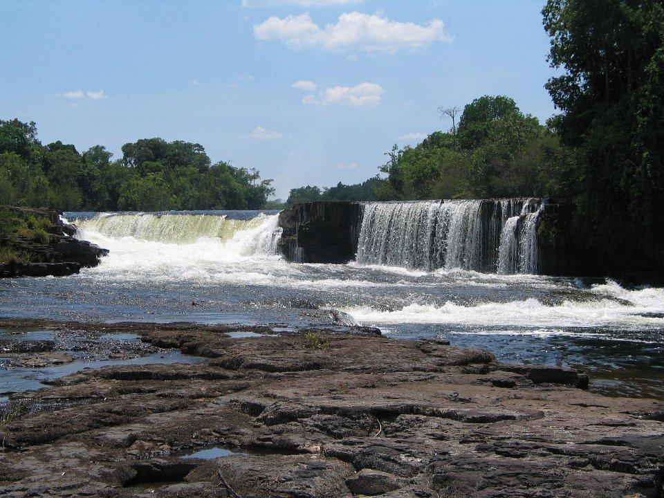 Chipembe Falls in Zambia