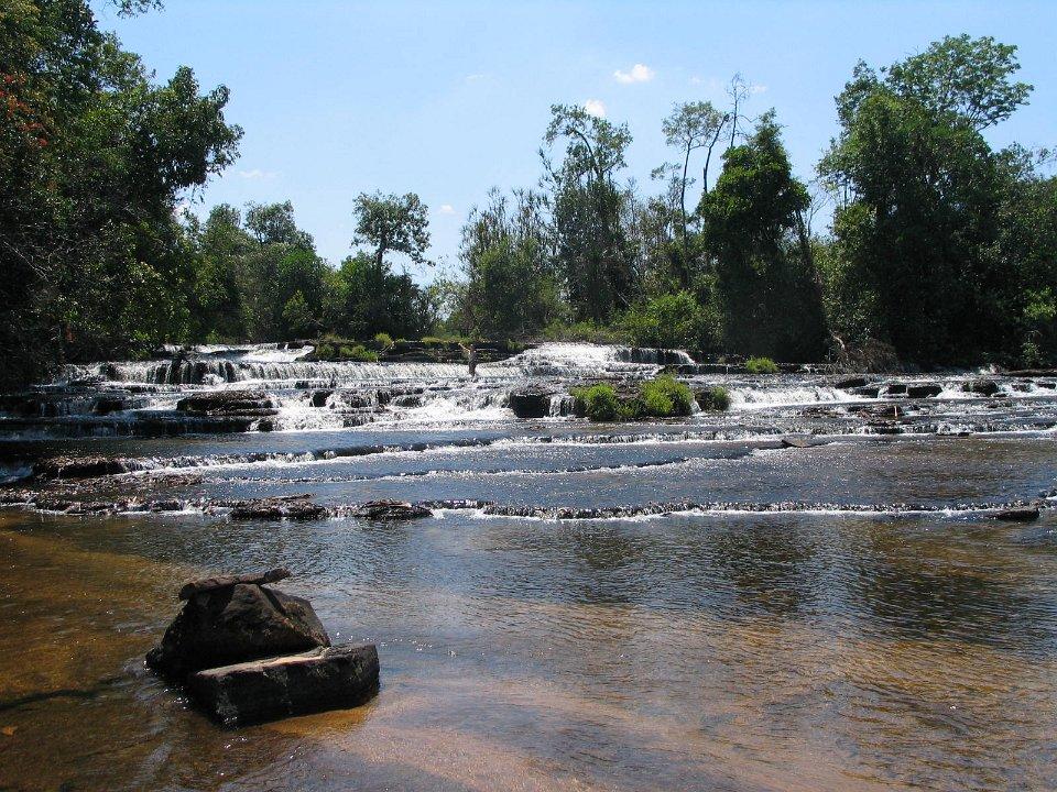 Chipembe Falls noord Zambia