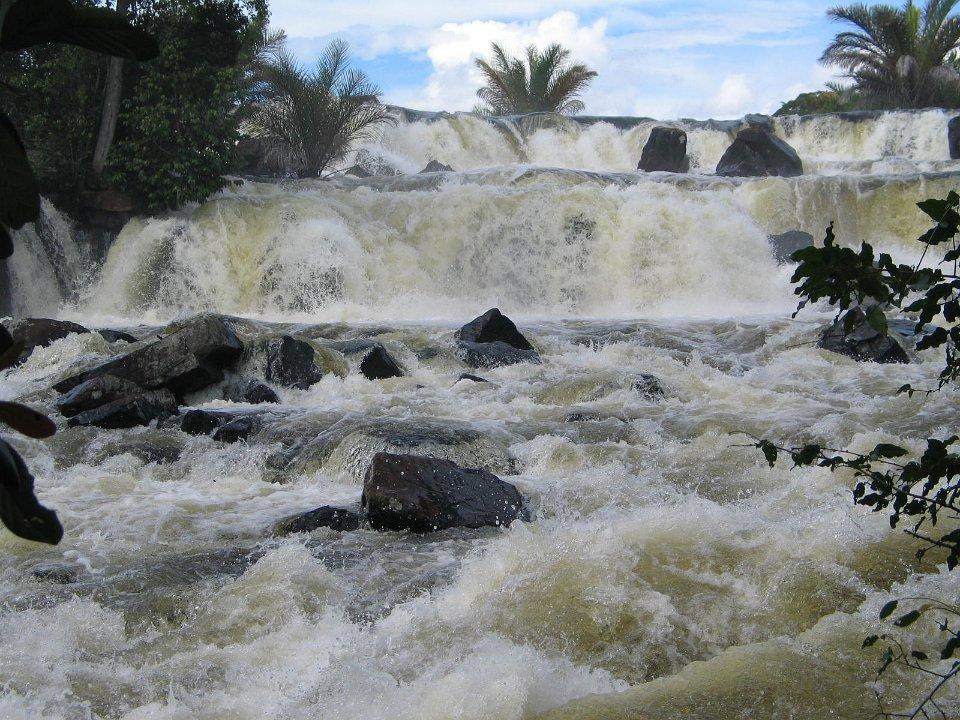 Chishimba Falls in december Zambia