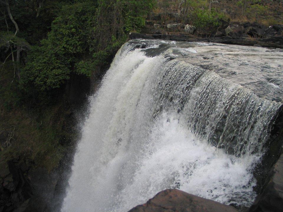Chishimba Falls in oktober Zambia