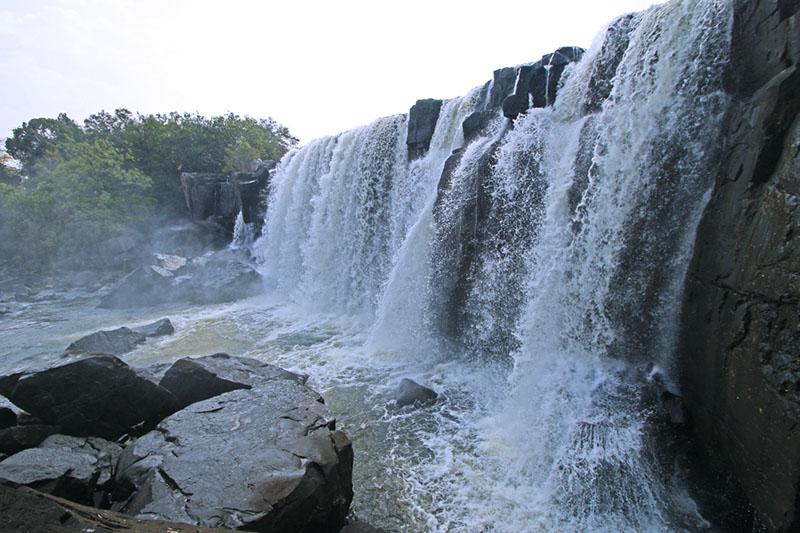 Chishimba Falls noord Zambia