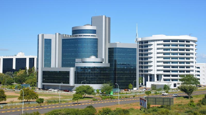 Gaborone hoofdstad van Botswana