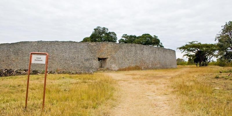 Great Enclosure van ruïnes Great Zimbabwe