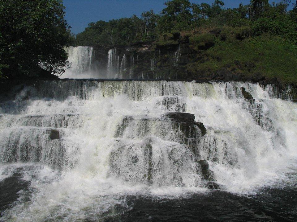 Kabwelume Falls northern Zambia